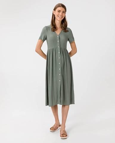 Zelená sukně vero moda