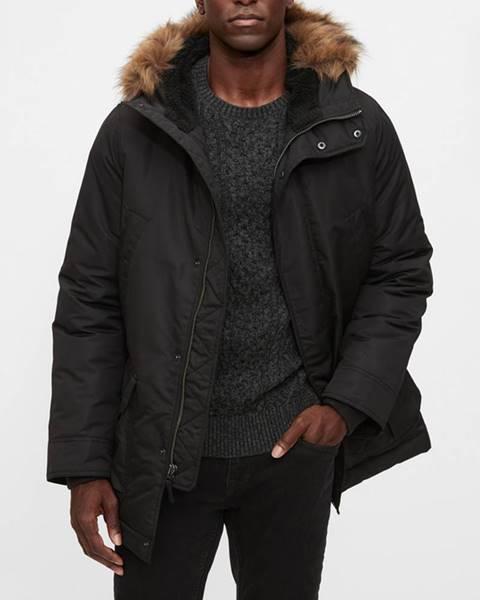 Černá bunda GAP