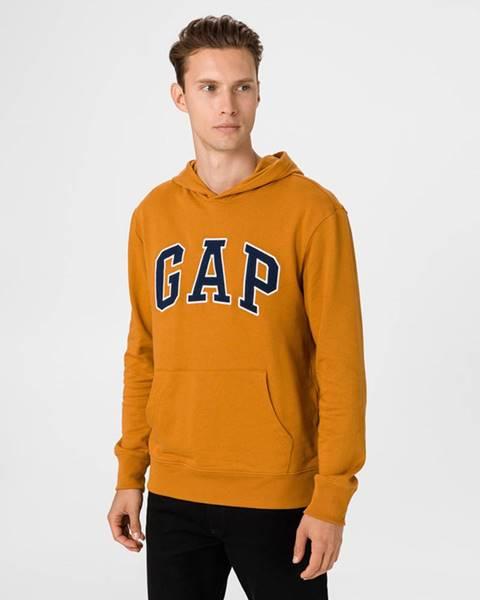 Žlutá mikina GAP
