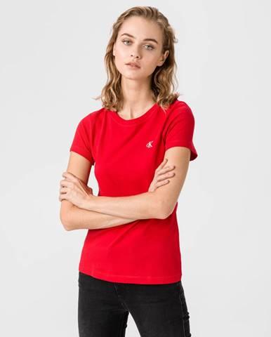 Červený top Calvin Klein
