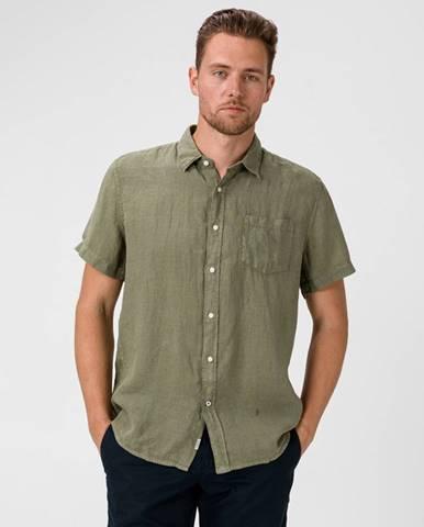 Zelená košile pepe jeans