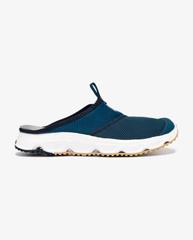 Modré pantofle Salomon