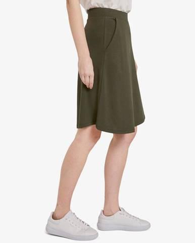 Zelená sukně tom tailor
