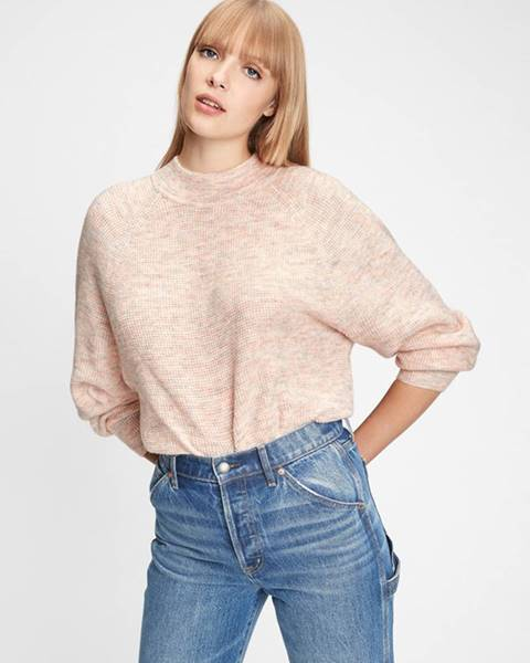 Růžový svetr GAP