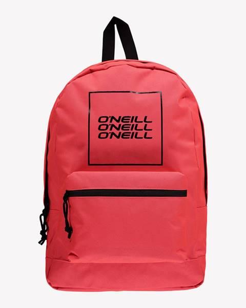 Červený batoh o'neill