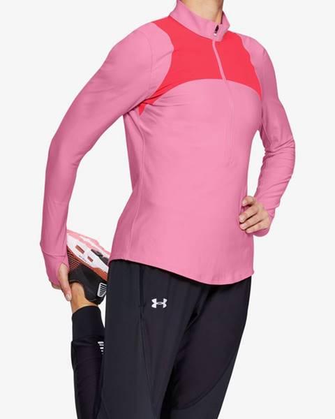 Růžový top under armour