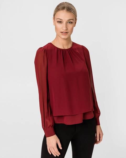 Červená halenka vero moda