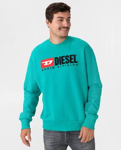 Modrá mikina Diesel