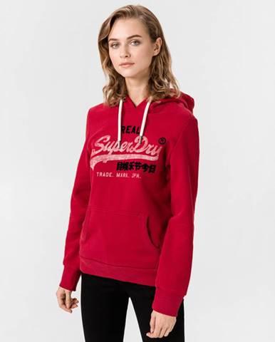 Červený svetr superdry