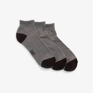 Ponožky 3 páry Šedá