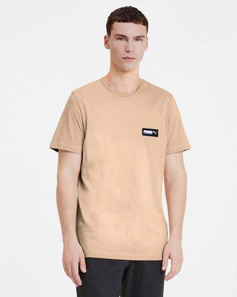Béžové tričko puma