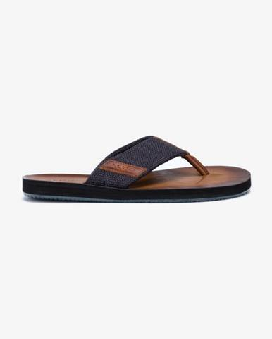 Modré pantofle aldo