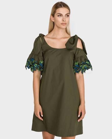 Zelená sukně Pinko