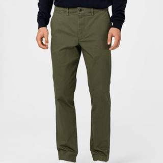 Kalhoty Zelená