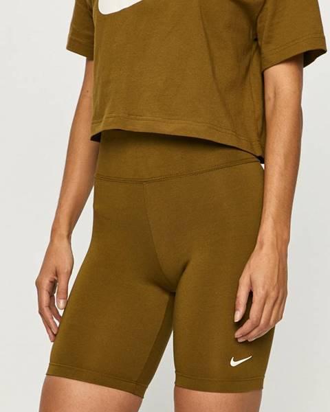 Zelené kraťasy Nike Sportswear