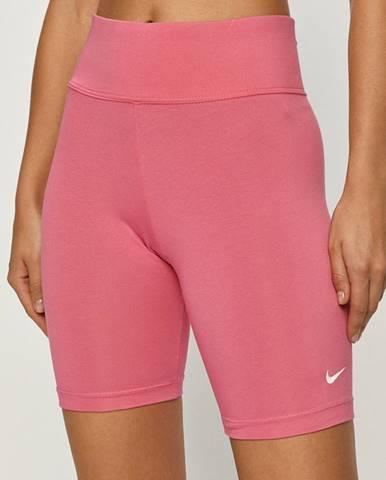 Růžové kraťasy Nike Sportswear