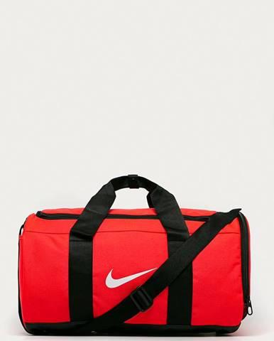 Oranžový kufr nike