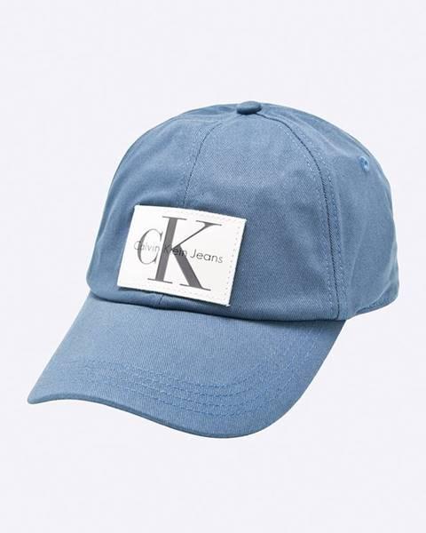 Modrá čepice calvin klein jeans