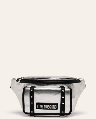 Stříbrná ledvinka Love Moschino