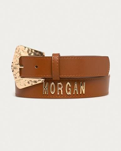 Hnědý pásek Morgan