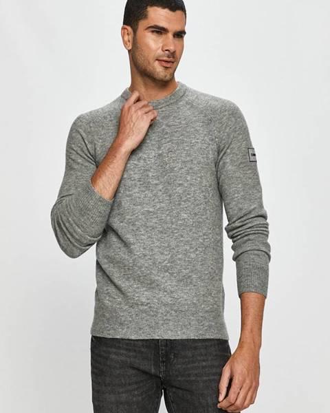 Šedý svetr Calvin Klein