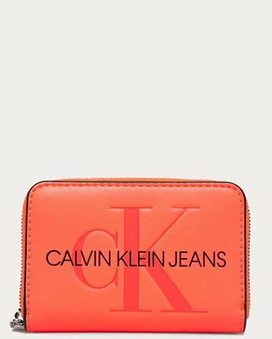 Růžová peněženka calvin klein jeans
