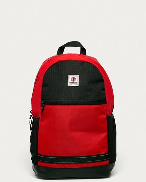 Červený batoh Element