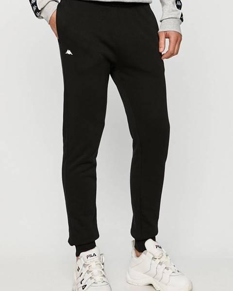 Černé kalhoty Kappa