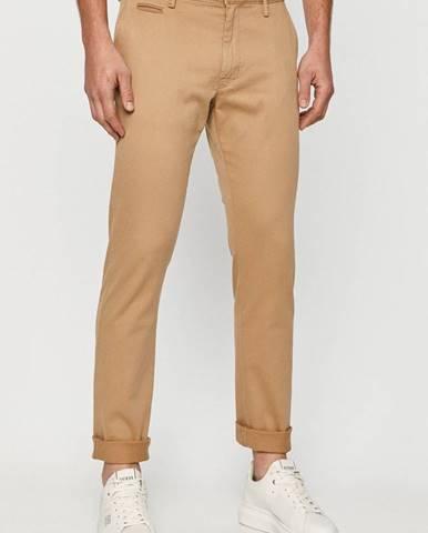 Béžové kalhoty s.oliver