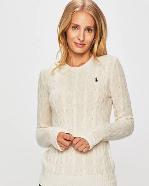 Bílý svetr Polo Ralph Lauren