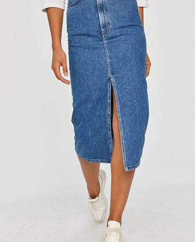 Modrá sukně Answear Lab