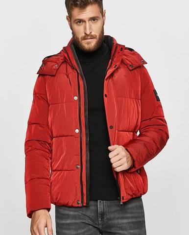Červená bunda Calvin Klein