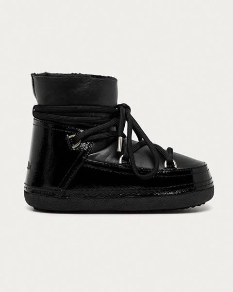 Černé boty Inuikii