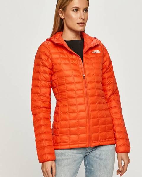 Oranžová bunda The North Face