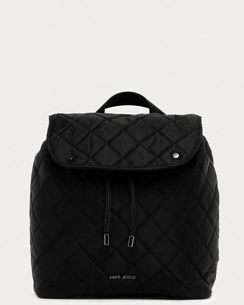 Černý batoh pepe jeans