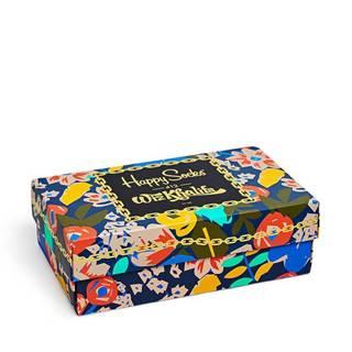 Happy Socks - Ponožky Giftbox x Wiz Khalifa