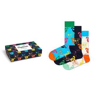 Happy Socks - Ponožky Mixed Dog Gift Set (3-pack)