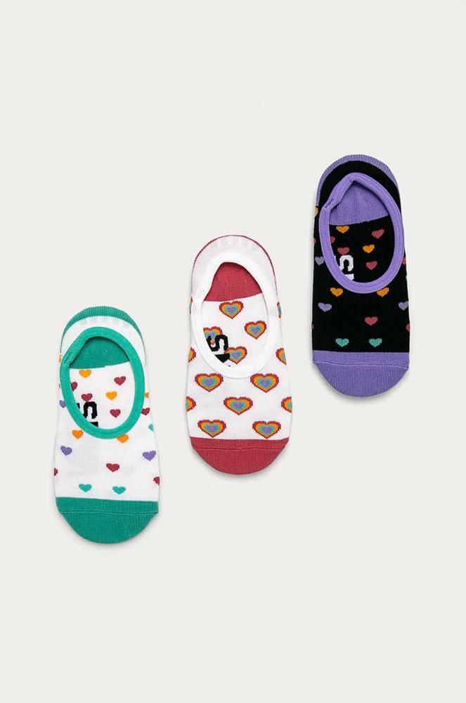 vans Vans - Kotníkové ponožky (3-PACK)