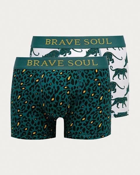 Zelené spodní prádlo Brave Soul