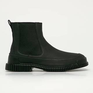Camper - Kožené kotníkové boty Pix