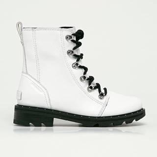 Sorel - Kožené kotníkové boty Lennox Lace