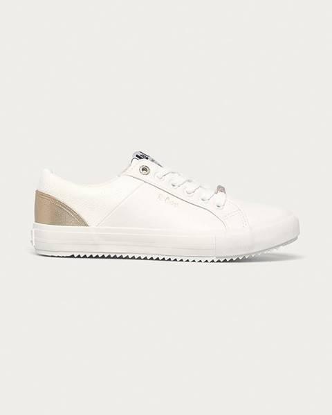 Bílé boty Lee Cooper