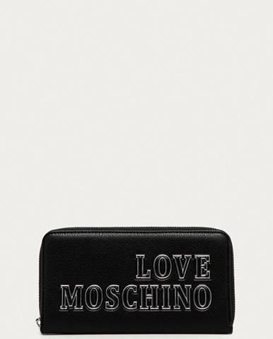Černá peněženka Love Moschino