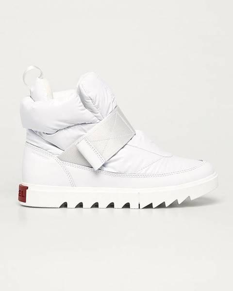 Bílé boty sorel