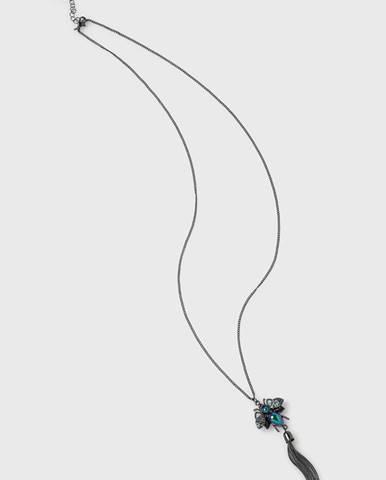Šedý náhrdelník MEDICINE