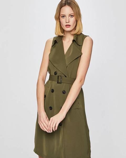 Zelené šaty vero moda