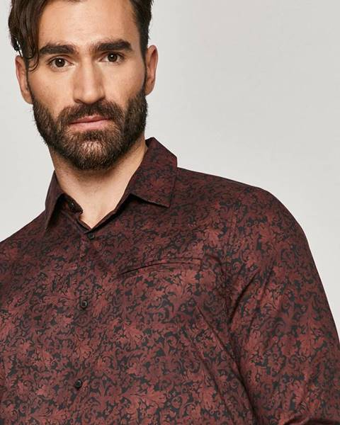 Burgundská košile MEDICINE