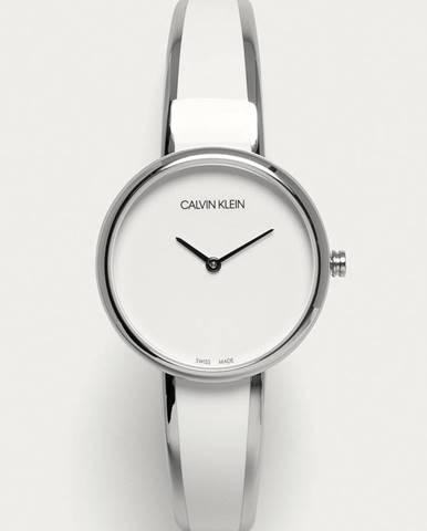 Bílé hodinky Calvin Klein
