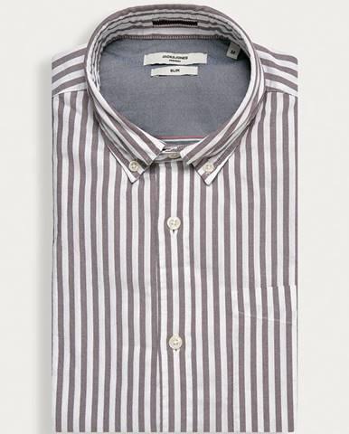 Burgundské tričko Premium by Jack&Jones