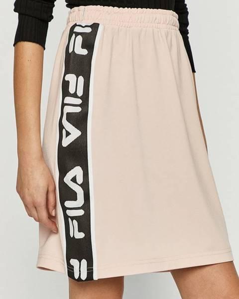 Růžová sukně fila